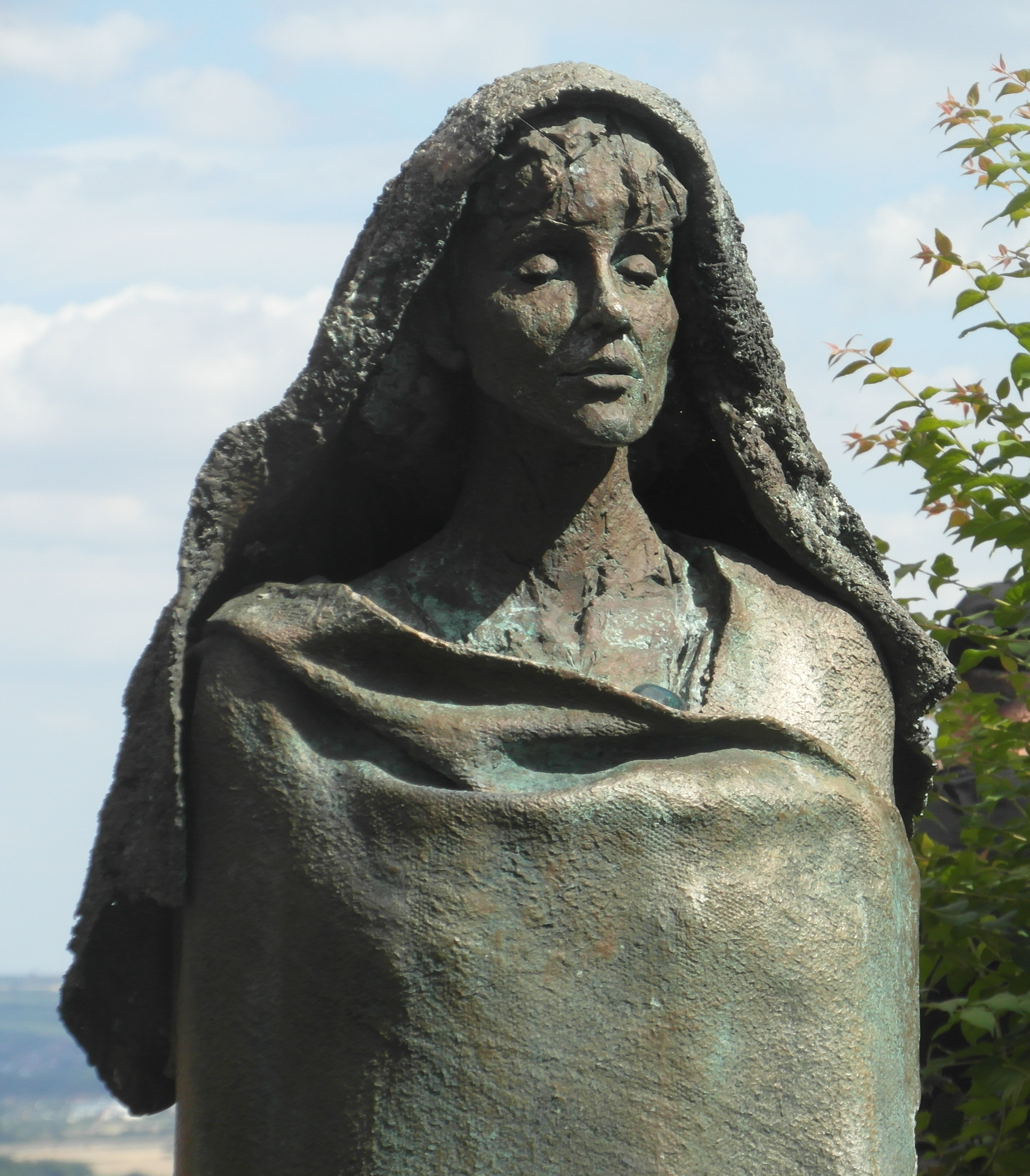 Statue of Hildegard of Bingen, Eibingen Abbey
